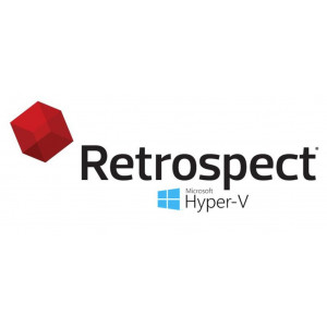 Retrospect Virtual Competitive upgrade - 1 HyperV host, 5 guests bundle with Management Console