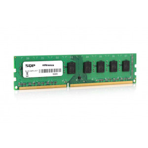 Mémoire SQP spécifique  pour HP-Compaq - Kit de 2 modules de 2 Gb - DDR2 - Dimm - 400 MHz - ECC/Registered - 1R4 - 1,8V - CL3