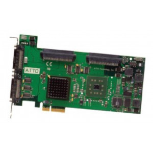 Carte Ultra320 SCSI - Host Bus Adapters - 4 x double-canal 2 ports ext + 2 ports int. - PCI-Express