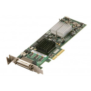 Carte Ultra320 SCSI - Host Bus Adapters - 4 x double-canal 2 ports ext - PCI-Express - Low Profil