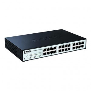 Switch Web managé - D-Link Easy Smart  24 ports 10/100/1000Mbps sans ventilateur