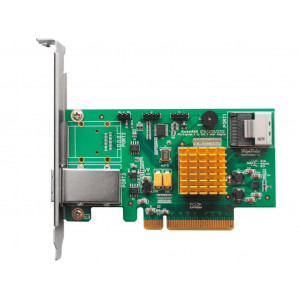 Carte contrôleur - Highpoint RocketRAID 2710 - 4 ports Internes SAS/SATA 6 Gb/s - SFF-8087 (Mini-SAS) - Raid 0,1,5,10,JBOD - PCI-Express 2.0 8x - Low Profile - Mac/Win/Linux/FreeBSD