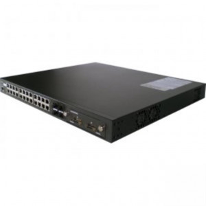 Switch 24 Ports 10/100/1000 +4 P 1000 SFP optique  et 2 ports  DUAL 10 GBITS OPTIONNEL