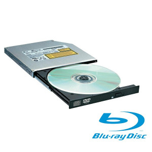 Graveur BluRay interne SATA Slim - Noir