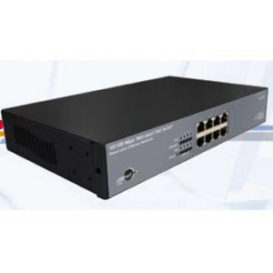 Switch 24 ports 10/100 / 1000 Mbps - 24 ports POE+ sans fonction Web manageable