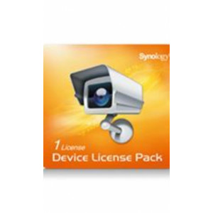 Licences Synology Pack 1 camera - Produit physique