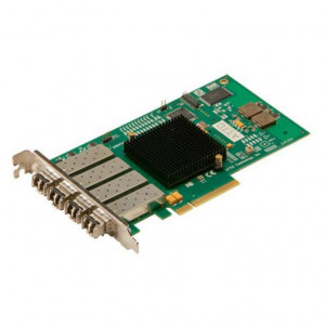 Carte contrôleur fibre - Celerity FC-84EN - Quad Channel 8 Gb/s Fiber Channel LC SF - PCI-Express 8x - inclus transceveir SFP/LC