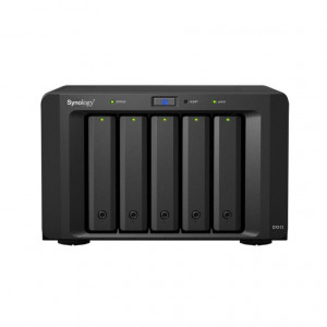 "Chassis d'extension Synology Tour DX513 - Boitier nu - 5 baies 3.5""/2.5"" - Alimentation interne"