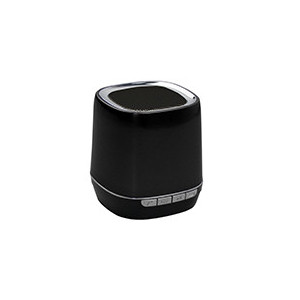 Enceinte portable Bluetooth 2,1 - WMA/MP3 - Slot Micro SD- Fonction Mains libres - batterie 300mAh - couleur Noir