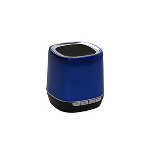 Enceinte portable Bluetooth 2,1 - WMA/MP3 - Slot Micro SD- Fonction Mains libres - batterie 300mAh - couleur Bleu
