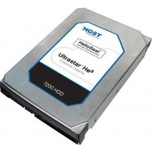 "Disque dur - 3,5"" 6TB - 7200rpm - SATA 6Gbps - 128MB - HGST Ultrastar He8 - ISE - 24/7"