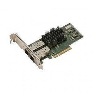 Carte réseau - FastFrame ATTO Dual Channel x8 PCIe 2.0 10GbELC SFP+ SR Interface (low-profile)