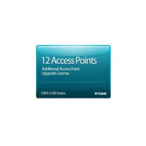 Licence additionnelle 12 APs pour DWS-3160-24TC - Version électronique