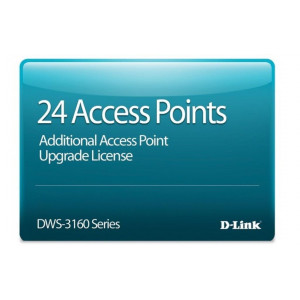 Licence additionnelle - D-Link 24 APs pour DWS-3160-24TC - Version électronique