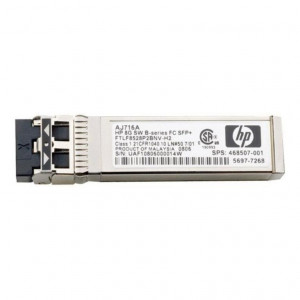 HP 8Gb Shortwave B-series Fibre Channel 1 Pack SFP+ Transceiver - New Retail