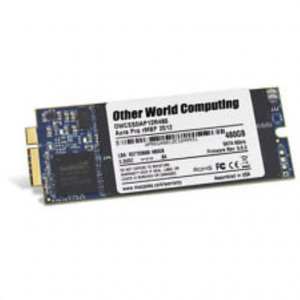 SSD Carte 240GB PCIe - OWC Aura 6G - Compatible IM 2012 sauf 2,7GHz + iMac Adhesive tape