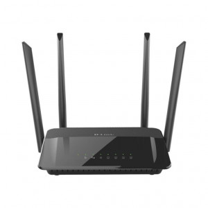 Routeur Wireless AC1200 Dual Band 4x Gigabit - Antennes externes - 802.11ac 5GHz 867Mbps max