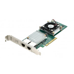Carte réseau - PCI Express 2 ports 10GBASE-T RJ45 - Standards IEEE 802.3an 10 Gbps