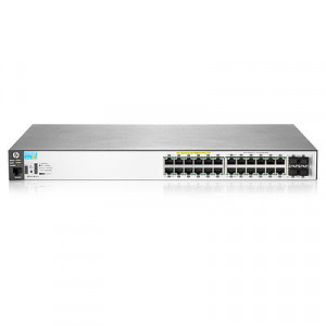 Switch administrables - 24 ports Gigabit administrable niveau 2 + 4 ports combo SFP PoE+