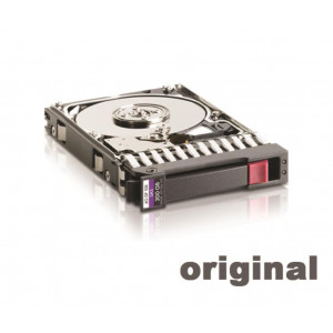 Disque dur - 3,5'' 146GB - 15Krpm - SAS 3Gbps - HP Original - Garantie Carepack HP - Bulk
