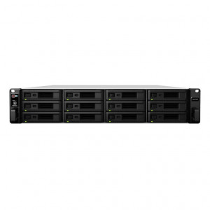 "Châssis d'extension Synology Rack ( 2U ) RX1217RP - Boitier nu - 12 baies 3.5""/2.5"" - Alimentation redondante"