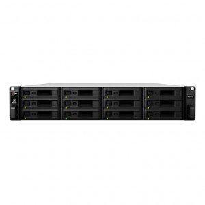 NAS Synology Rack (2U) RS3617xs+ 96TB (12 x 8TB) RED Pro