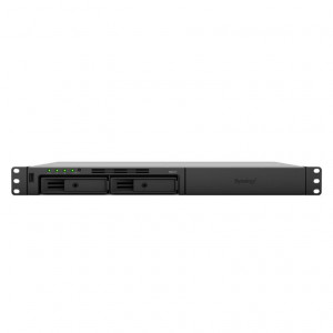 "NAS Synology Rack ( 1U ) RS217 - Boitier nu - 2 baies 3.5""/2.5"" - Simple alimentation"