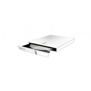 Graveur DVD  ASUS externe USB - Compatible Mac / PC - Blanc