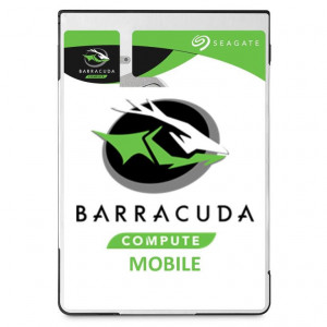 "Disque dur 2,5"" 500GB - 5400rpm - SATA 6Gbps - 128MB - Seagate BarraCuda HDD - 7mm"