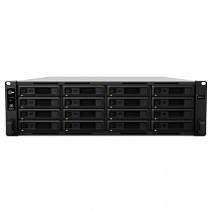 NAS Synology Rack (3 U) RS4017xs+ 32TB (16 x 2 TB) Disque IronWolf Pro