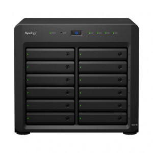 NAS Synology Tour DS2415+ 96TB (12 x 8 TB) Disque IronWolf Pro