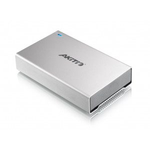 "AKiTiO desktop pour 1 x HDD 3,5"" - 1 port USB3, 2 port  FireWire 800, 1 port eSata"