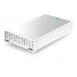 AKiTiO pocket 2TB - interface USB 3.0 - aluminium