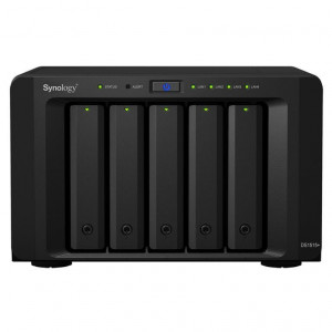 NAS Synology Tour DS1517+ (2GB) 40TB (5 x 8TB) Disques RED