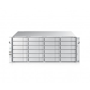 VTrak E5800fS 4U/24 incl. 24x 4TB (96TB) 7200 rpm 12G SAS HDD - Simple controleur - Rails inclus