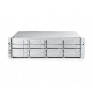 VTrak E5600fS 3U/16 incl. 16 x 6TB (96TB) 7200 rpm 12G SAS HDD - Simple controleur - Rails inclus