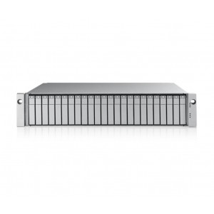 VTrak E5320fS 2U/24 SFF incl. 24x 1TB (24TB) 7200 rpm 12G SAS HDD - Simple controleur - Rails inclus