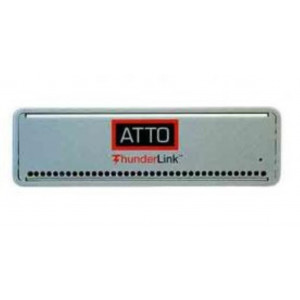 ATTO ThunderLink 2x 40Gb Thunderbolt 3 to 2x 32Gb Fibre Channel inc. Optical SFP+ LC