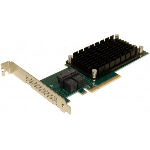 Carte contrôleur - ExpressSAS x8 PCIe Gen3.0 to 12Gb SAS/SATA 8 Int Port Low Profile
