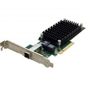 Carte contrôleur - ExpressSAS x8 PCIe Gen3.0 to 4-Port Ext/4-Port Int 12Gb SAS/SATA Low Profile