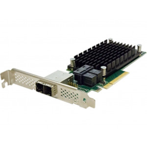 Carte contrôleur - ExpressSAS x8 PCIe Gen3.0 8-Port Ext/8-Port Int 12Gb SAS/SATA Low Profile