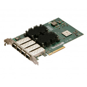 FastFrame Quad Channel x8 PCIe Gen2.0 10GbE Optical SFP+ LC Full height HBA