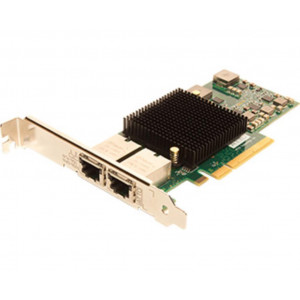 FastFrame Dual Channel x8 PCIe Gen2.0 10Gb Ethernet NIC Low Profile RJ45 Interface