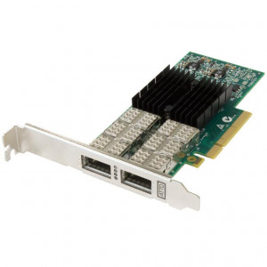 FastFrame Dual Channel x8 PCIe Gen3.0 40Gb Ethernet NIC 30m Optical QSFP+ Low Profile