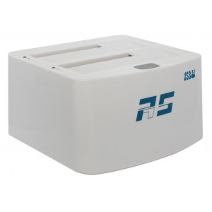 Highpoint RocketStor 3122B - Dock 2 emplacements SATA 6Gb/s - 2 ports USB 3.1
