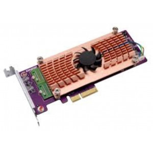 Carte d'extension Dual M.2 22110/2280 PCIe SSD (PCIe Gen2 x 4), Low-profile bracket
