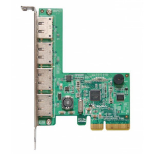Highpoint Rocket 644L - Carte contrôleur 4 ports Externes eSATA 6Gb/s - Raid 0,1 - PCI-Express 2.0 x4 - Mac/Windows/Linux/FreeBSD