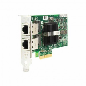 HP NC360T PCI-E Dual Port Gigabit Server Adapter- Bulk