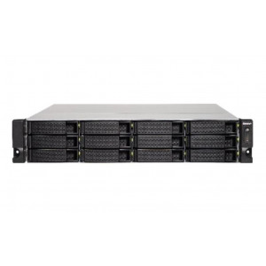 "NAS QNAP Rack ( 2U ) TS-1273U-8G - Boitier nu - 12 baies 3.5""/2.5"" - Simple alimentation"