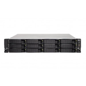 "NAS QNAP Rack ( 2U ) TS-1253BU-8G - Boitier nu - 12 Baies 3.5""/2.5"" - Simple Alimentation"